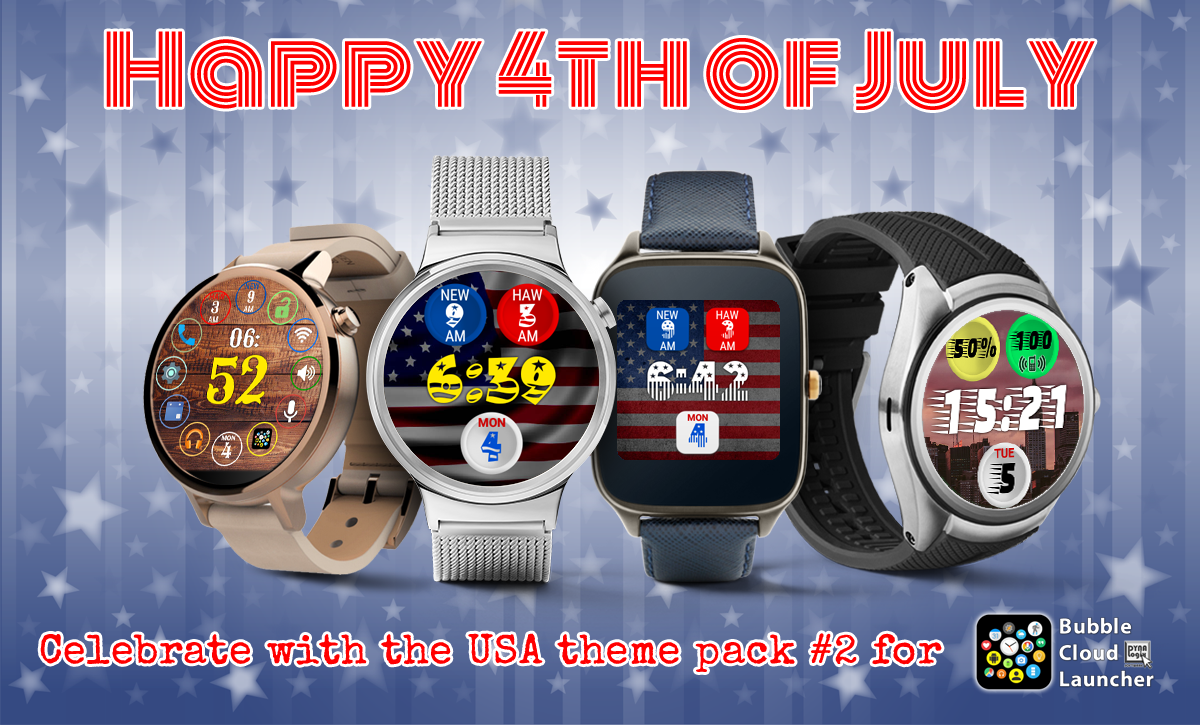 THEME PACK #2 Independence week sale: 99¢