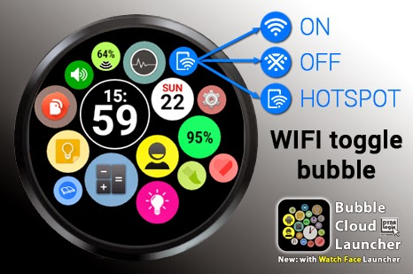 Feature focus: WIFI Toggle Bubble
